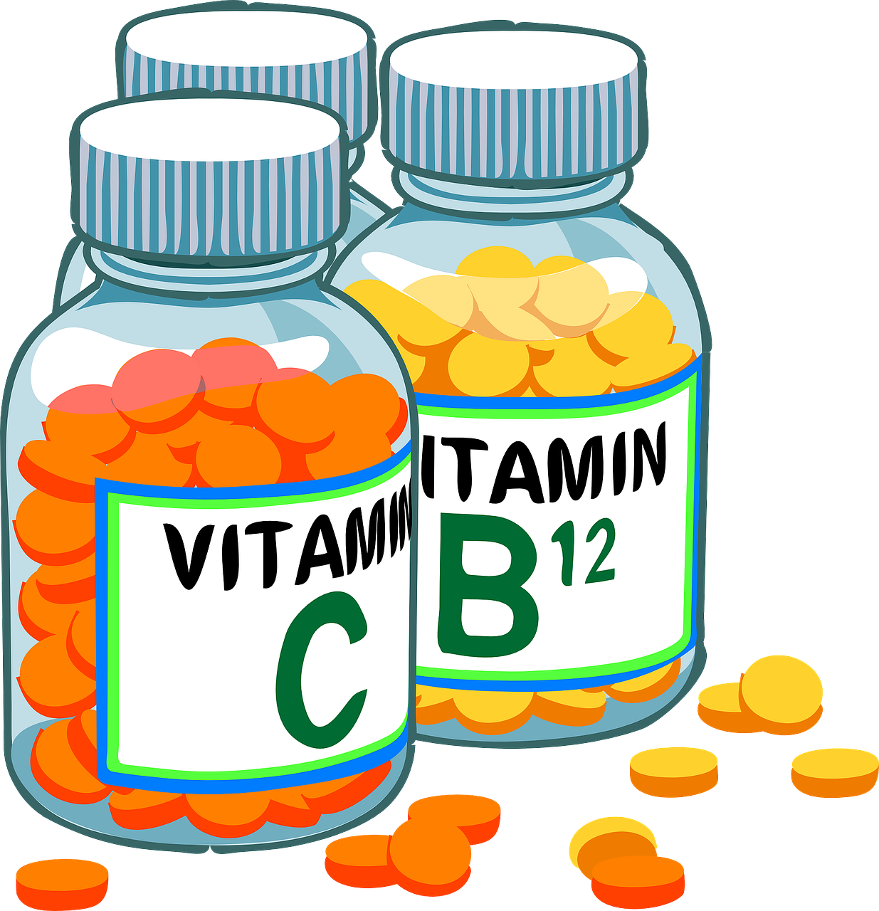 colite ulcerosa vitamina D - vitamine - vitamina C - Vitamina B12