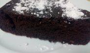 Torta al Cioccolato Leggerissima. Senza latte, uova, burro.