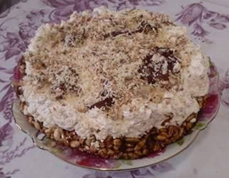 torta kinder cereali