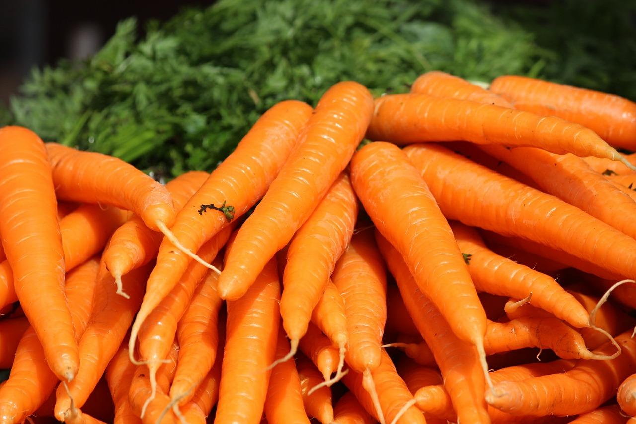vitamina a e infiammazione - carote - betacarotene
